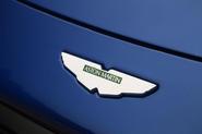 Aston Martin Vantage 2018 review - bonnet badge