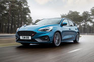 Ford Focus ST 2019 first ride - hero front