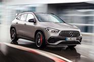 Mercedes-AMG GLA 45 S 2020 official press images - hero front