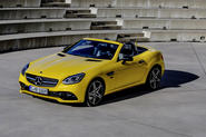 Mercedes-Benz SLC final edition official press - hero front