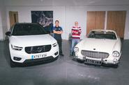 Old vs new at Volvo's service department