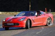 Chevrolet Corvette C7 drifting