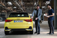 Audi A1 designer Jurgen Loffler on why his car has gone 'to the gym'