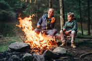 Are you the sort of family that loves wild camping?