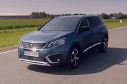 PEUGEOT's large SUV features seven seats or up to 2,150 litres of load volume