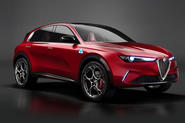 Alfa Romeo electric small suv concept render - as imagined by Autocar