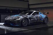 2020 Aston Martin Vantage Cup car - front