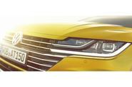 Volkswagen Arteon design previewed ahead of Geneva