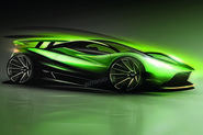 Aston Martin 'son of Valkyrie'