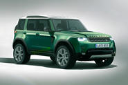 Baby Land Rover render