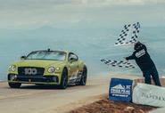 Bentley Continental GT pikes peak 2019 record holder - hero
