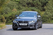 2017 BMW 330e - cornering front