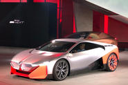 BMW Vision M next revealed front