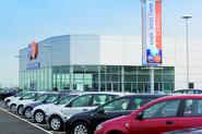 European car registrations fell in April 2017