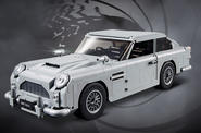 Lego creates James Bond Aston Martin DB5 model
