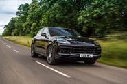 Porsche Cayenne driving - front