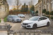Honda Civic vs Peugeot 308 vs Volkswagen Golf: group test