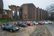 Coventry Cathedral cars