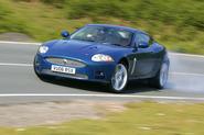 Jaguar XK side slant