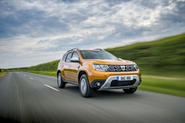 Dacia Duster Comfort TCe 100 4x2 driving - front