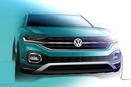 2019 Volkswagen T-Cross design shown in official preview