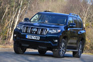 Toyota Land Cruiser Invincible 2018 UK review