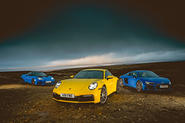 Porsche 911 vs Audi R8 V10 Coupé vs Lotus Evora GT410
