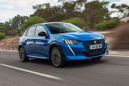 2019 Peugeot e-208 review - hero front