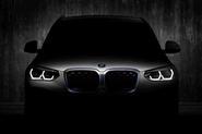 2020 BMW iX3 preview image - front