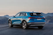 Audi E-tron 2019 official reveal static rear