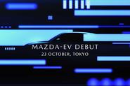 Mazda EV debut announcement image