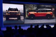 Ford's baby Bronco SUV leaked in dealer presentation