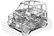 Ford Comuta cutaway diagram