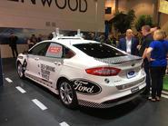 Ford Fusion autonomous tech
