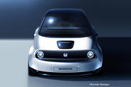 Honda Urban EV production prototype sketch