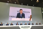 Male-dominated line-up at the Volkswagen Group conference