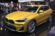 Bold new BMW X2 shown in public at Detroit show