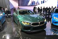 BMW M8 Gran Coupe LA show