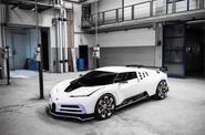 Bugatti Centodieci leak - front
