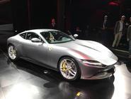 Ferrari Roma silver 1
