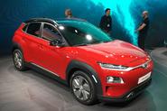 Hyundai Kona Electric gets 292-mile range, 7.6sec 0-62mph time