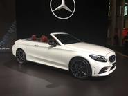 Mercedes-Benz C-Class coupe priced from £37,620; cabrio from £41,439