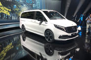 Mercedes-Benz EQV official reveal - front