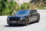 Bentley Flying Spur plug-in hybrid seen testing ahead of 2019 release