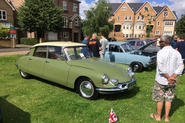 Hampton Village Classic Car Show Citroen DS