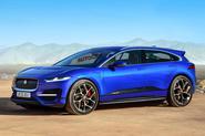 Jaguar J-Pace render