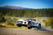 An F-Type with a difference: the open-top Jaguar rally car