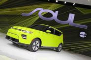 Kia Soul EV LA motor show debut