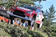 Meeke famously won in Finland in 2016