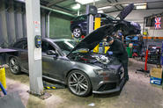 Audi RS4 servicing